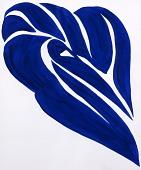 view Blue Palm Leaf digital asset number 1