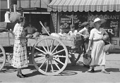 view Selling watermelons on Saturdays and court day in Jackson, Breathitt County, Kentucky digital asset number 1