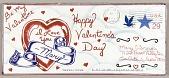 "view Envelope to Mary Cisneros ""Be My Valentine"" digital asset number 1"