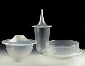 view Opaline Exterior Fold Set: Bowl, Vase, and Bottle digital asset number 1