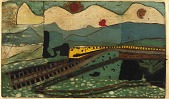 view Train in Landscape digital asset number 1