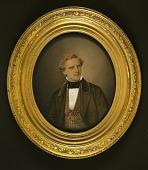 view Gentleman in Brown Velvet with Patterned Waistcoat digital asset number 1