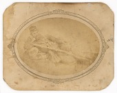 view Reclining Civil War Soldier digital asset number 1