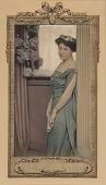 view Woman in Blue Evening Dress digital asset number 1