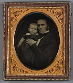 view Untitled (Father and Baby) digital asset number 1