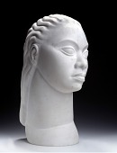 view Untitled (Idealized Head of a Woman) digital asset number 1