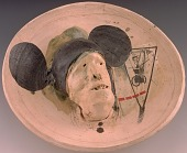 view Ghost Plate with Mickey Mouse Ears digital asset number 1