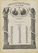 view National Inauguration Ball March 4th, 1865 digital asset number 1