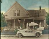 view House with Decorated Car in Front digital asset number 1