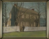 view House with Picket Fence digital asset number 1