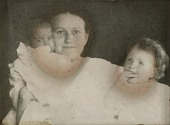 view Untitled (Helen Cornell with daughters Elizabeth and Helen digital asset number 1