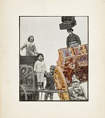 view Untitled (Children with Carnival Carts and Suitcases) digital asset number 1