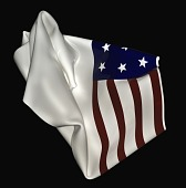 view Folded Flag #2 digital asset number 1