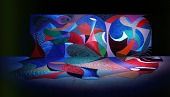 """view Snails Space with Vari-Lites, """"Painting as Performance"""" digital asset number 1"""