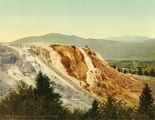 view Jupiter Terrace, Yellowstone National Park digital asset number 1