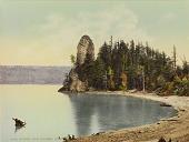 view Rooster Rock, Columbia River, Oregon digital asset number 1