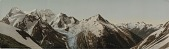 view Mt. Fox and Mt. Dawson from Asulka Pass, Selkirk Mountains digital asset number 1
