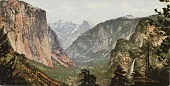 view Yosemite Valley from Artist's Point digital asset number 1