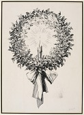 view Christmas Wreath (illustration from Dickens' A Christmas Carol) digital asset number 1
