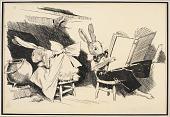 view Rabbits at Home (illustration for Peter Rabbit) digital asset number 1