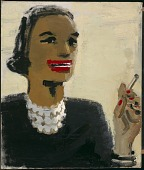 view Woman with Red Mouth digital asset number 1