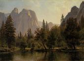 view Cathedral Rocks, Yosemite Valley digital asset number 1