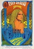 view Spaghetti Hair Lady (Youngbloods, Kaleidoscope...Avalon Ballroom, San Francisco, California 5/24/68-5/26/68) digital asset number 1
