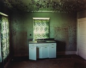 view Kitchen in a house in Carlyle, eastern Montana, June 8, 2000 digital asset number 1