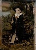 view [Boy with Toy Wagon] digital asset number 1