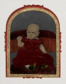 view [Infant in Red Dress] digital asset number 1