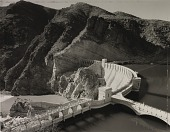 view Roosevelt Dam, before entombment in concrete monolith, Arizona digital asset number 1