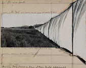 view Running Fence (Project for Sonoma and Marin Counties, California) digital asset number 1