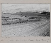 view Running Fence (Project for Sonoma and Marin Counties, California) Pacific Ocean, Town of Valley Ford, Freeway 101 digital asset number 1