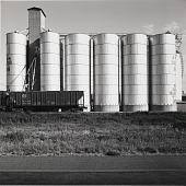view Steel Elevator, Near Ropesville, Texas, 1975 digital asset number 1