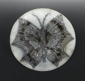 view Round Plate with Butterfly Motif digital asset number 1
