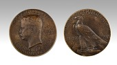 view Theodore Roosevelt Presidential Inaugural Medal digital asset number 1