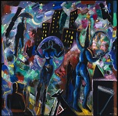view Night Magic (Blue Jester) digital asset number 1