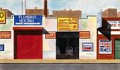 "view Untitled, Bronx Storefronts, ""Sanchez Auto Repair"" digital asset number 1"