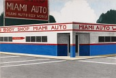 """view Untitled, Miami Storefront, """"Autobody Works"""" digital asset number 1"""