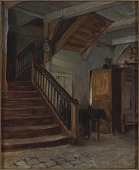 view Room Interior with Winding Staircase digital asset number 1