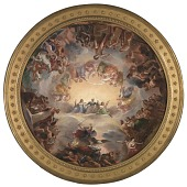 view Study for the Apotheosis of Washington in the Rotunda of the United States Capitol Building digital asset number 1