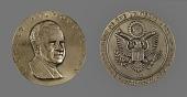 view Richard Milhouse Nixon Presidential Inaugural Medal digital asset number 1