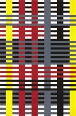 view Study for unexecuted wall hanging (Bauhaus period), from the portfolio Connections/1925/1983 digital asset number 1