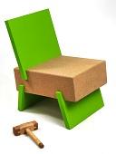view 3/1 Chair digital asset number 1