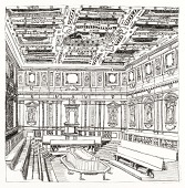 view Anatomical Theater, Bologna, Italy digital asset number 1