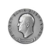 view Dwight David Eisenhower Inaugural Medal digital asset number 1