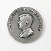 view John Fitzgerald Kennedy Inaugural Medal digital asset number 1