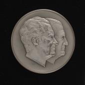 view Richard M. Nixon - Spiro T. Agnew Inaugural Medal digital asset number 1
