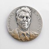 view Ronald Reagan Inaugural Medal digital asset number 1