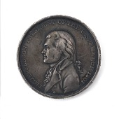 view Thomas Jefferson Presidential Inaugural Medal digital asset number 1
